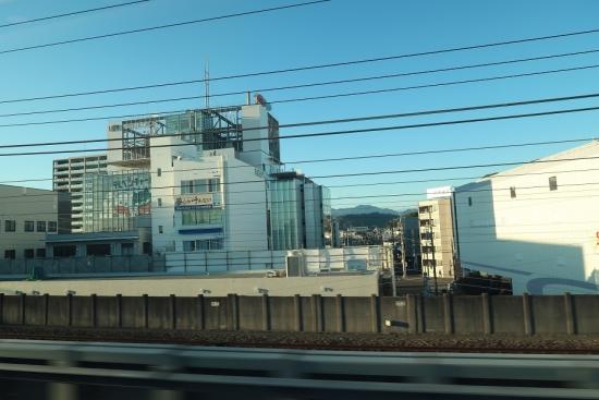 新幹線の車窓から静岡朝日テレビ