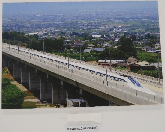 静岡駅リニアのパネル
