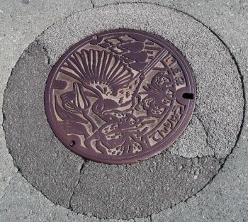 浜松市天竜区 マンホール