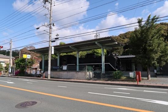 天竜二俣駅前 SL