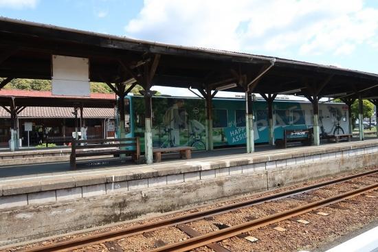 天竜浜名湖鉄道 天竜二俣駅 ヤマハPASラッピング車両