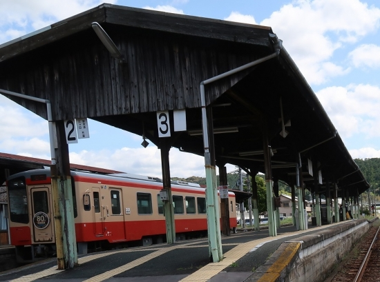 天竜二俣駅TH2102キハ20