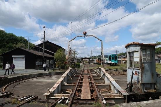 天竜浜名湖鉄道 天竜二俣駅 転車台