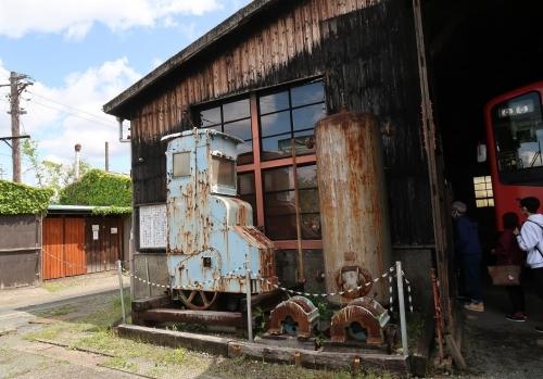 天竜浜名湖鉄道 天竜二俣駅 転車台と扇形車庫