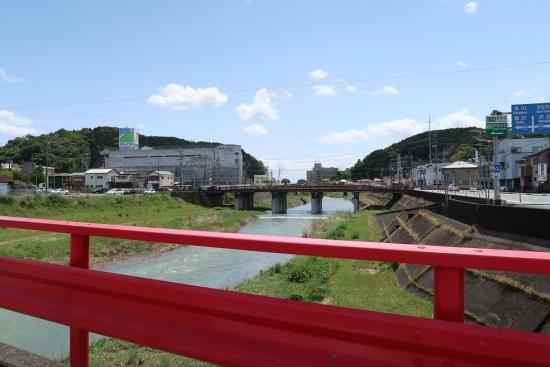 二俣川 上流橋