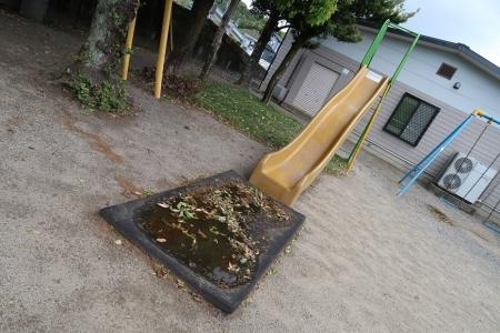 天竜二俣駅 汽車公園 滑り台