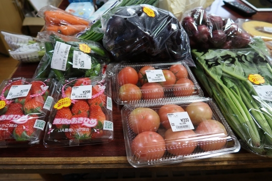 ヤタローさんのアウトレットで買った野菜