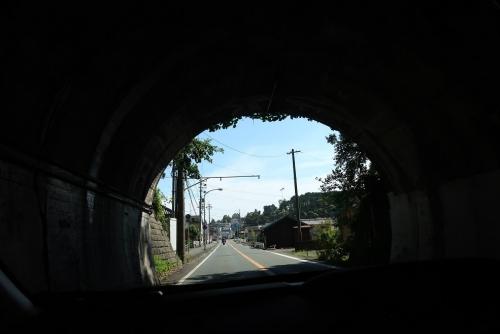 天竜のトンネル