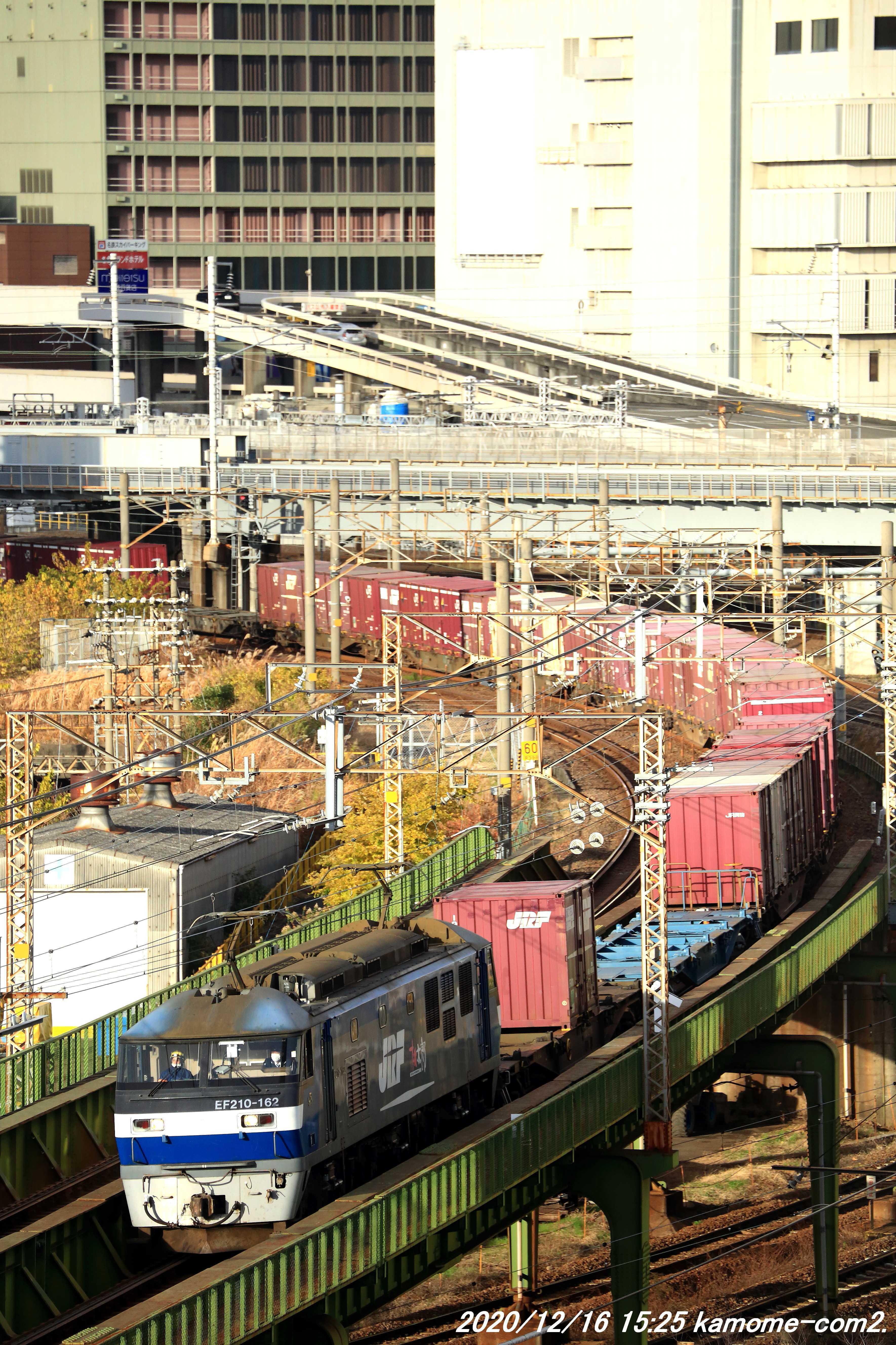 EF210牽引貨物@あおなみ線・ささしまライブ