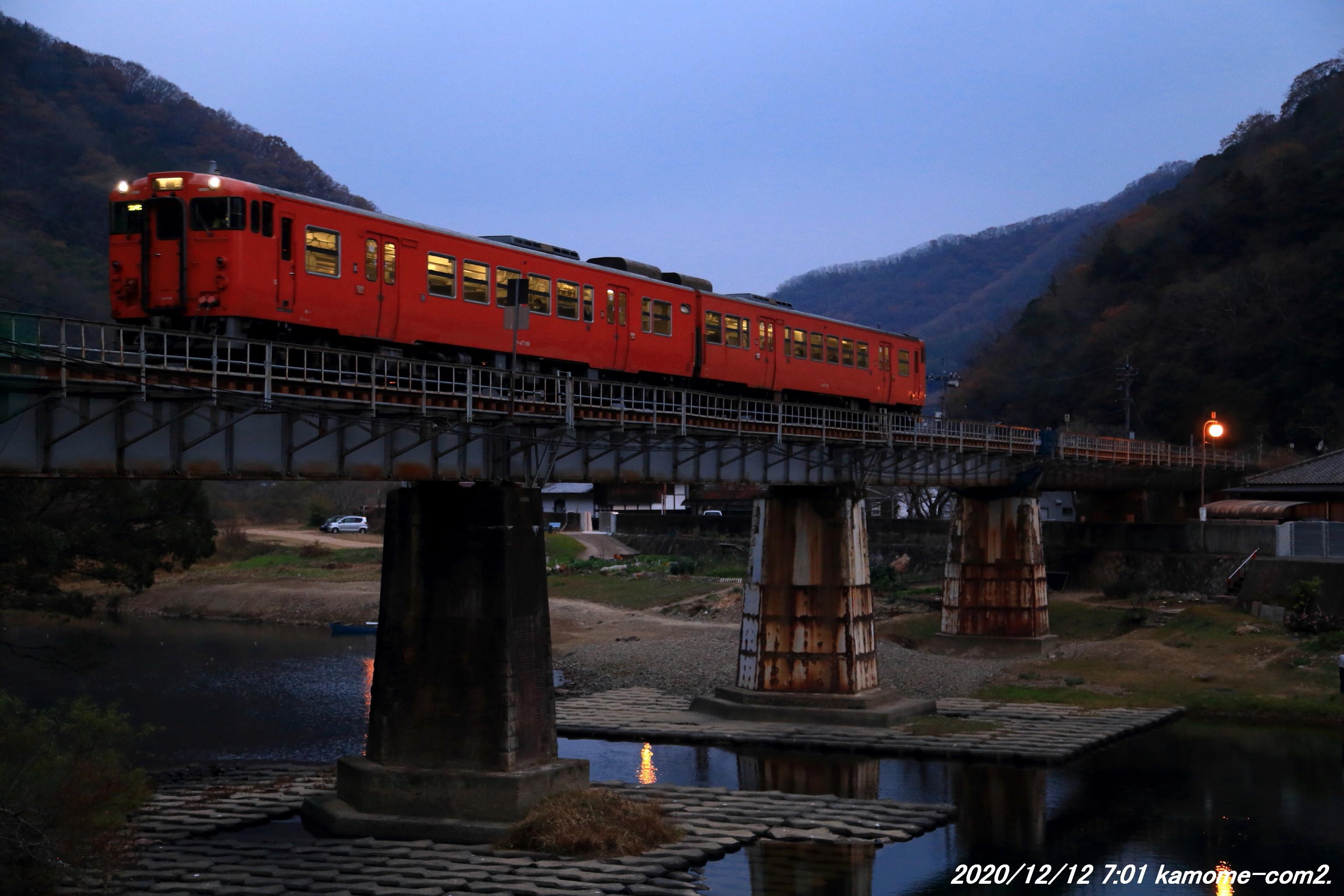 キハ47・2連@津山線・金川