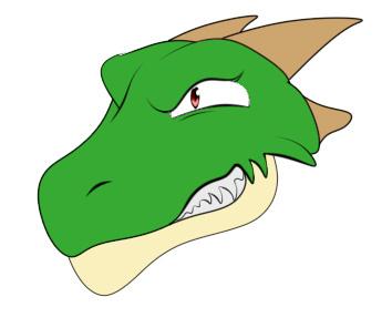 2000rtpドラゴン普通立ち絵笑顔