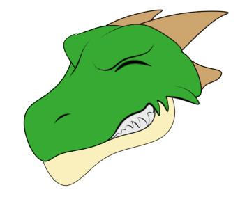 2000rtpドラゴン普通立ち絵笑顔2