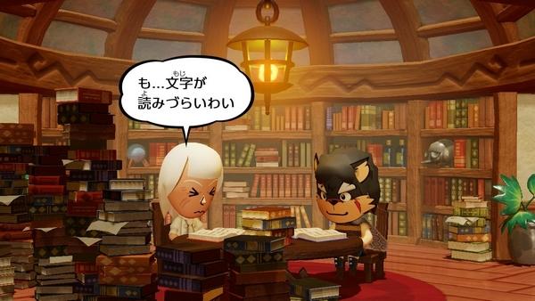 スイッチ版ミートピアお城に到着 (7)
