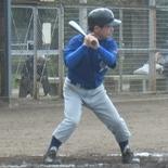 3回裏、相澤が安打を放ち無死満塁