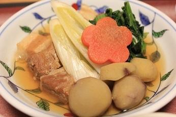 豚肉と栗の煮物