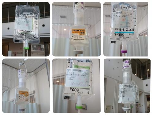 虫垂炎で入院●点滴の種類