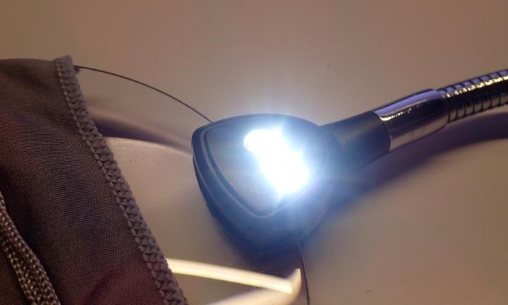LED付スタンドルーペ