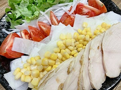 鶏ハムサラダ