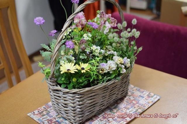 お花が届いたよ