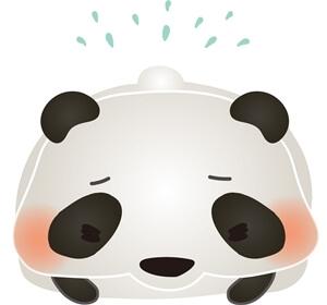 あやまるパンダ