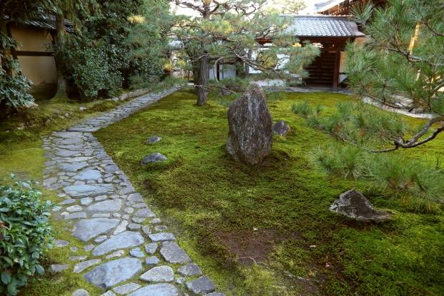 両足院庭園・方丈前庭