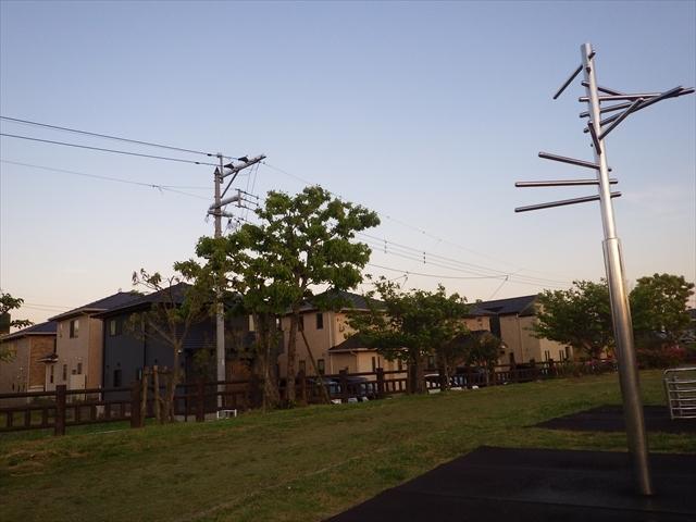 井尻川公園の景色