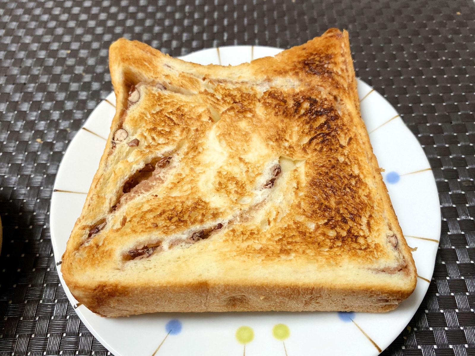 餡羅留(あんろーる)トースト