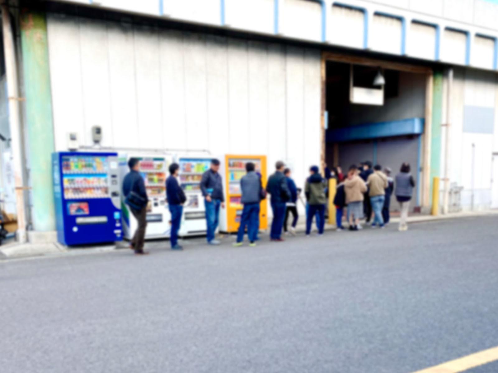 麺屋 浜堂 高松中央卸売市場店の行列