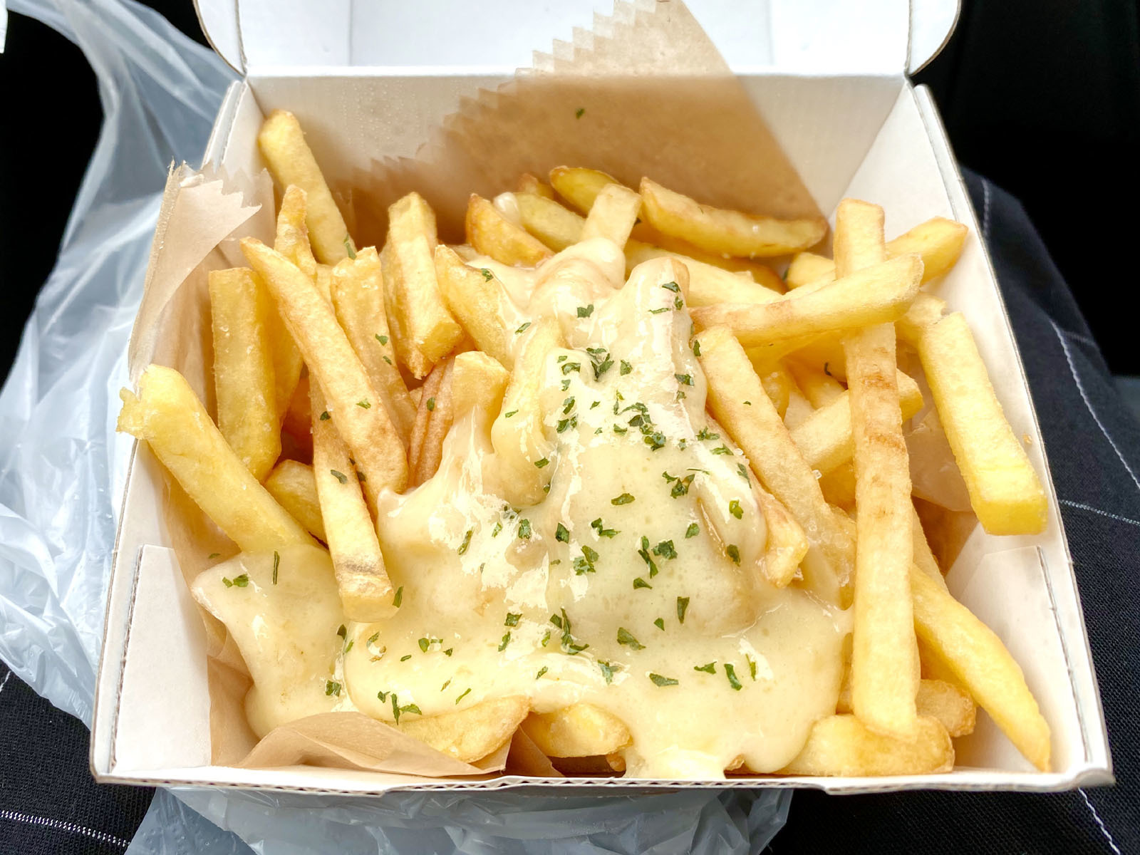 チーズカレーポテトBOX(カレー無しバージョン)
