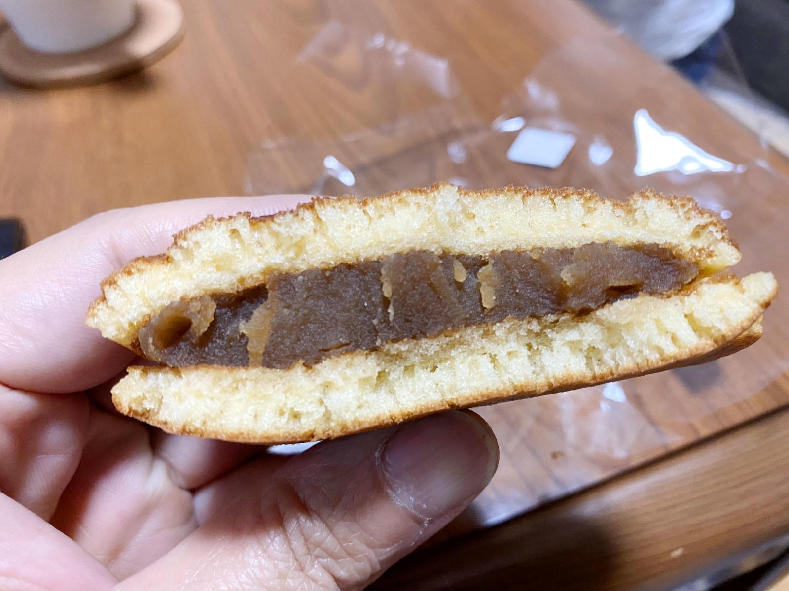 パンダどら焼き コーヒー(断面)