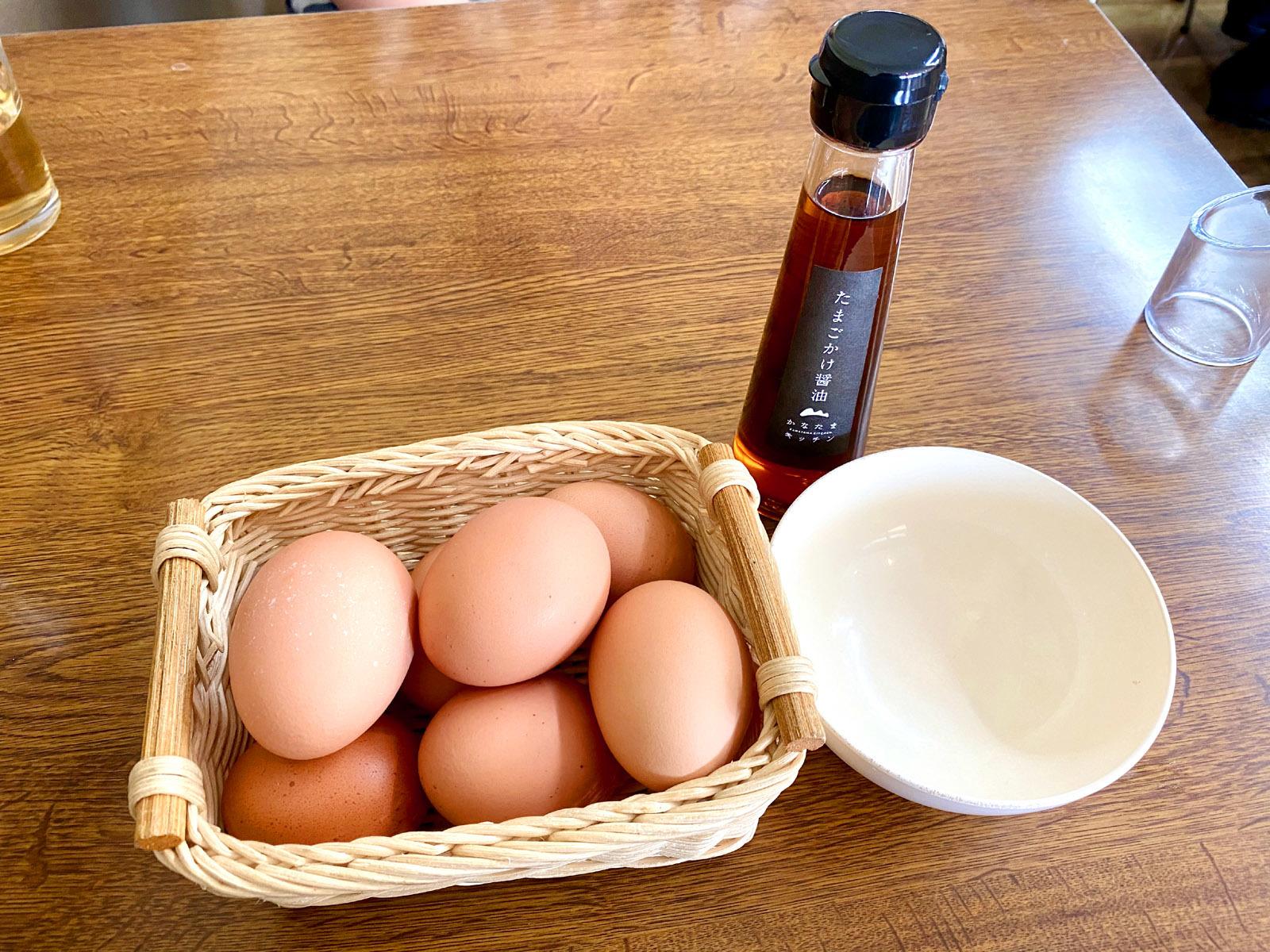 金の桑卵(食べ放題