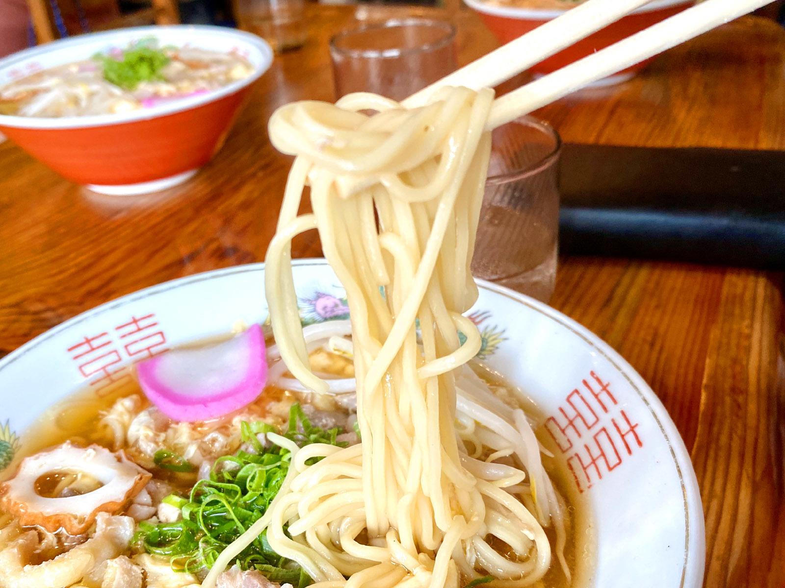 中華そば 550円(麺リフト)