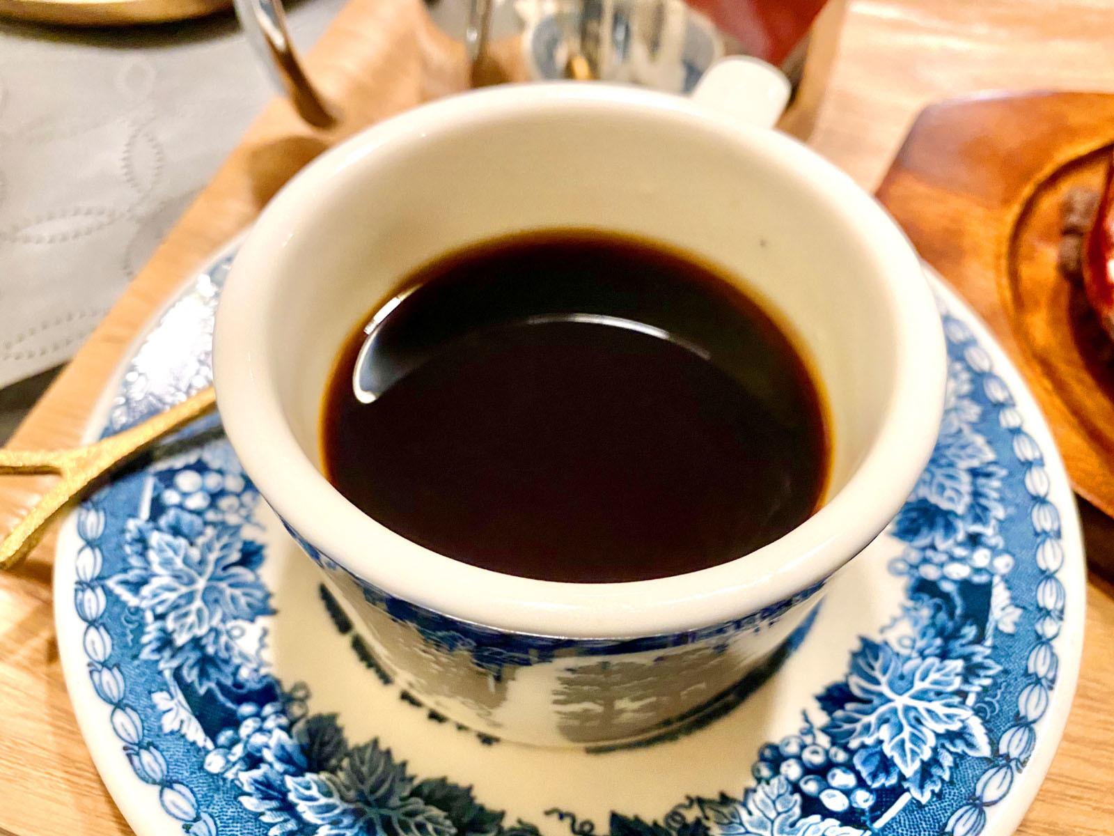 フレンチローストブレンド Cup 550円 Pot 600円