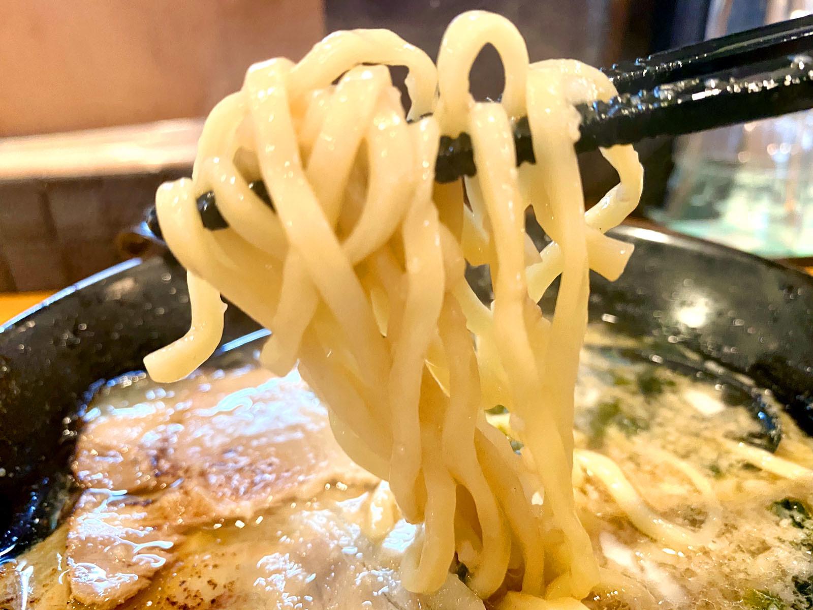 燕三条背脂醤油ラーメン 800円(税別)麺リフト