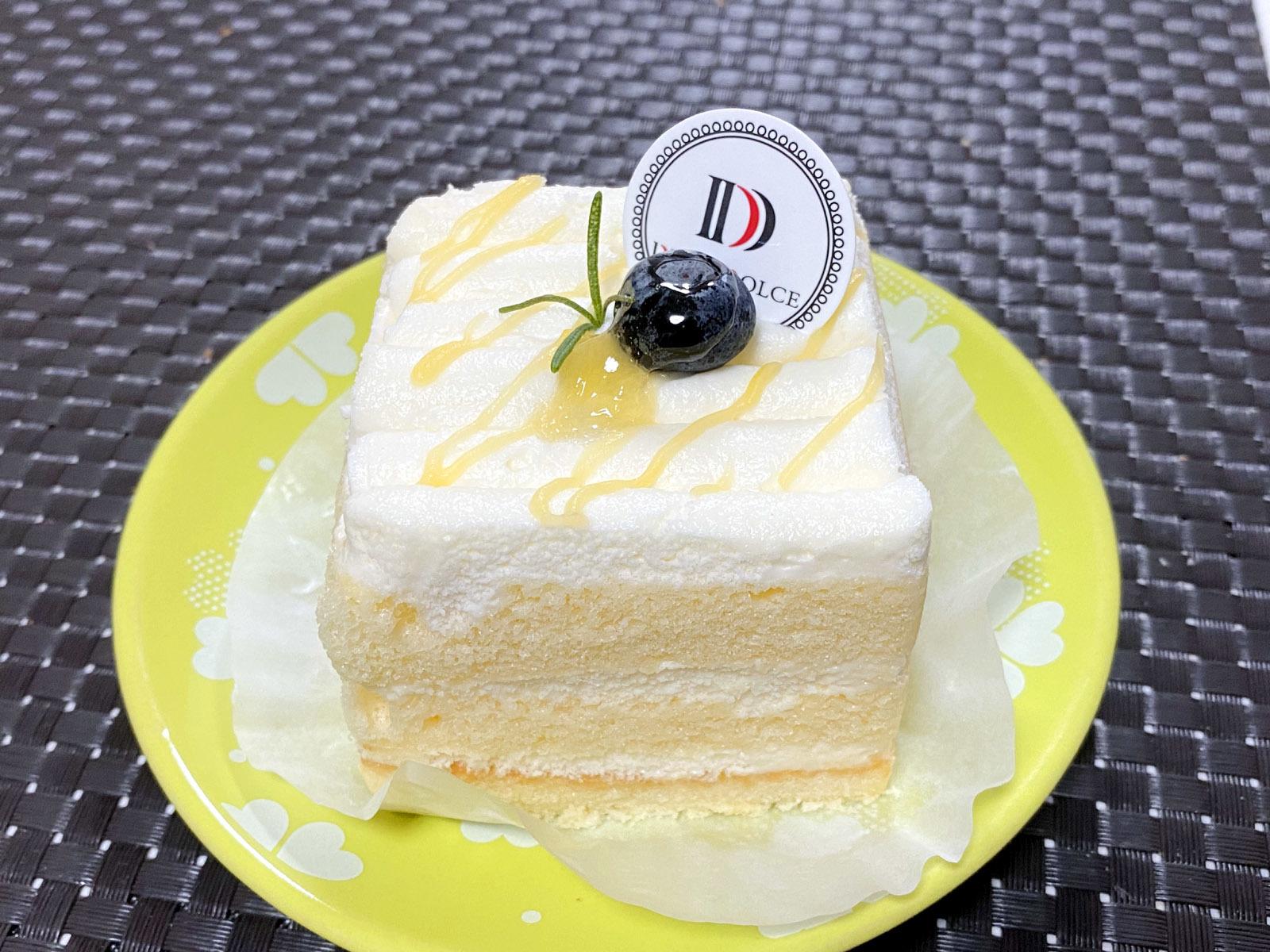 レモンショートケーキ 400円