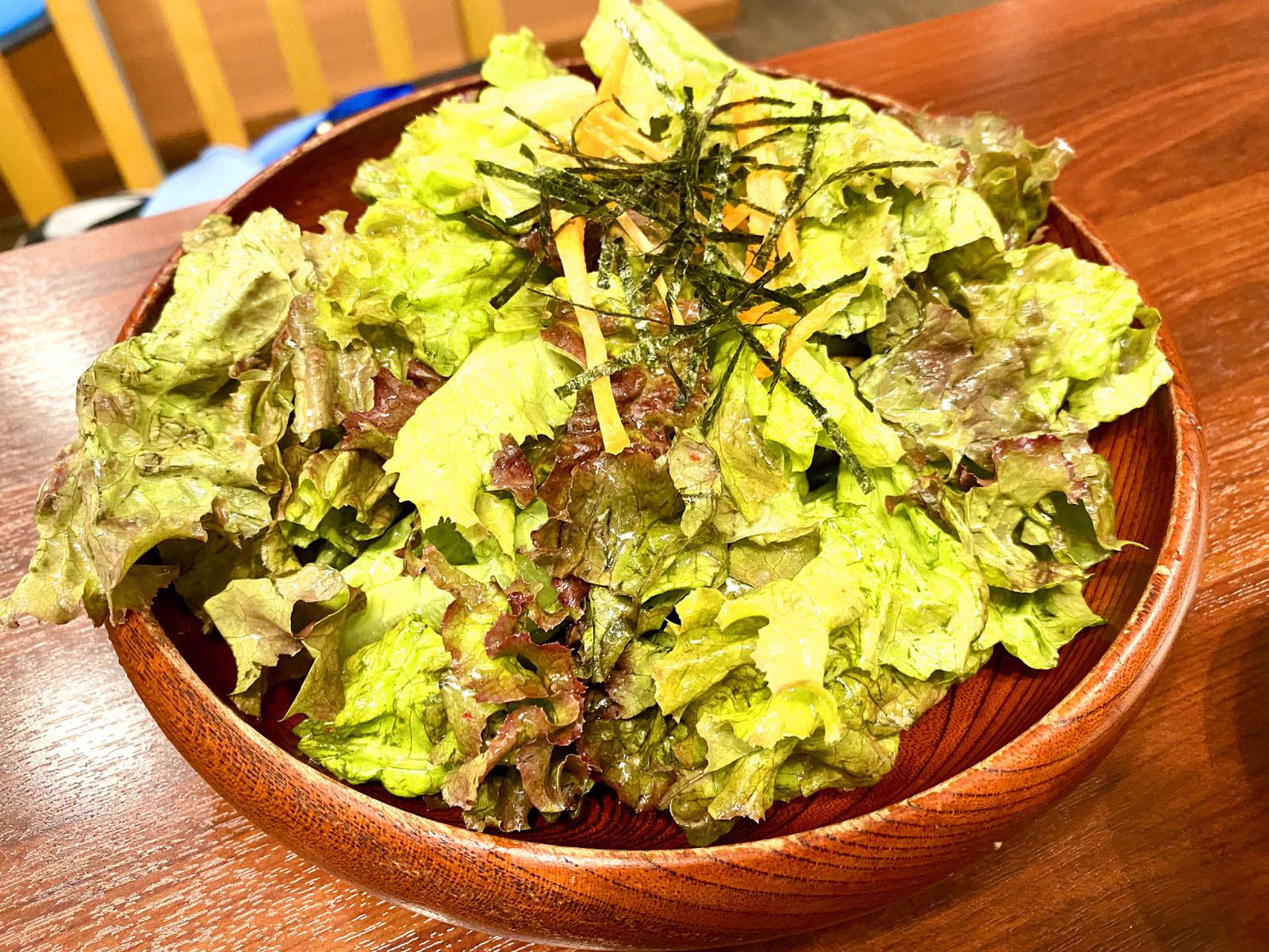 チョレギサラダ 380円(税込)