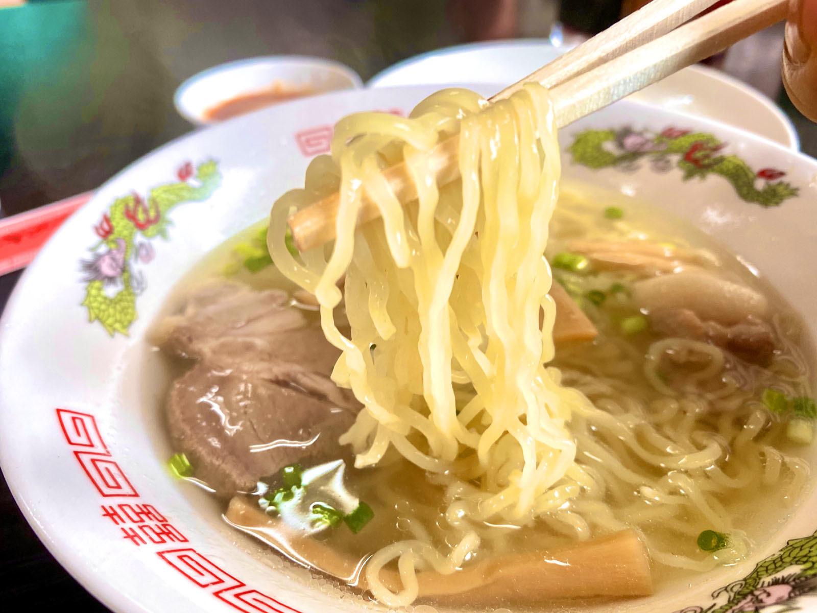 中華そば 460円(麺リフト)