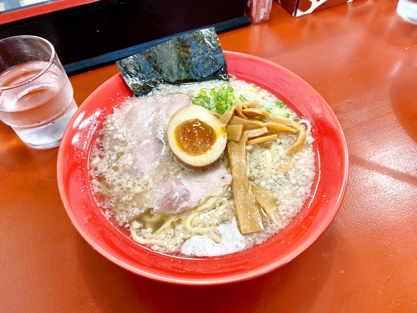 はまんど(平手打ち麺) 780円