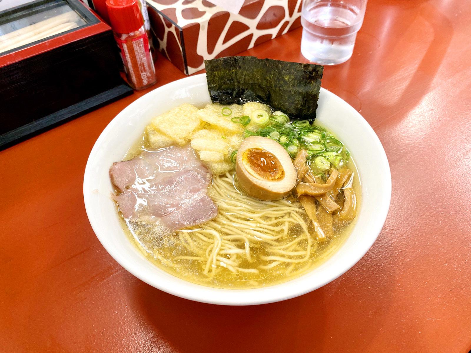 煮干そば(細麺) 780円
