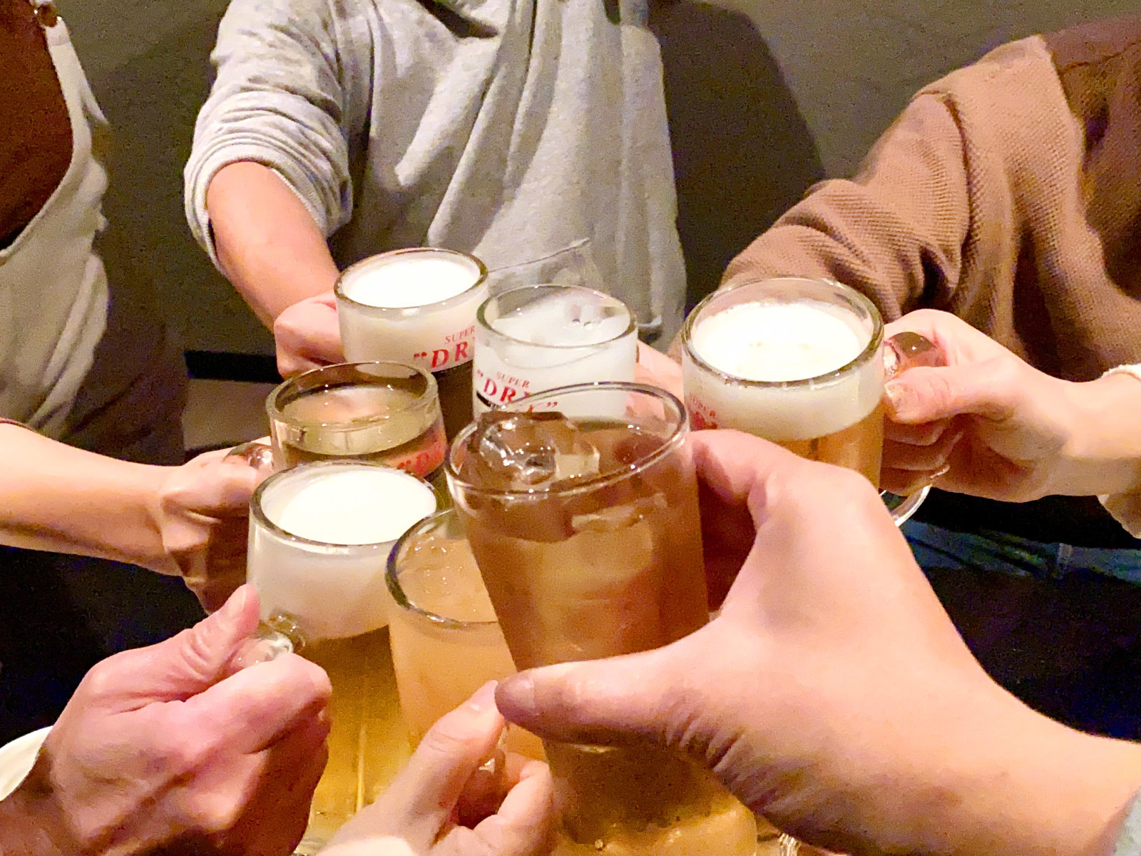 ぶつぎりたんちゃん 乾杯~♪