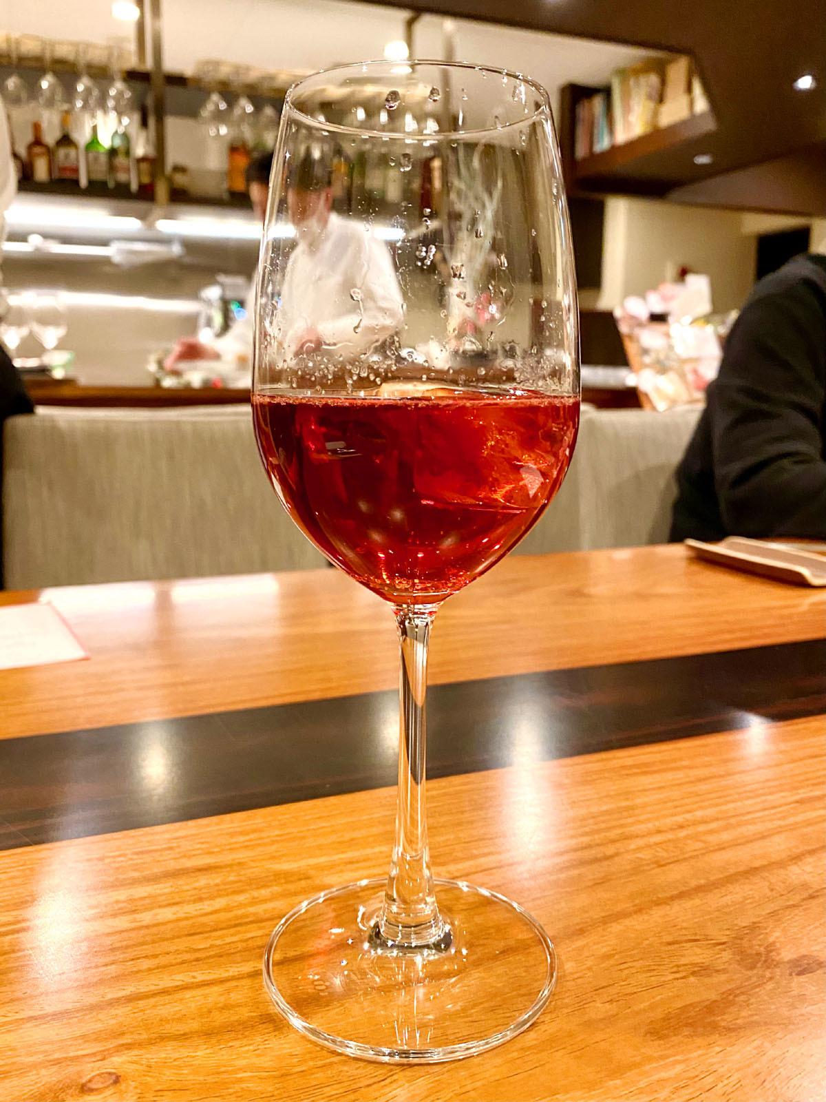 ビストロ ミューザンミュー 07 ノンアル 赤ワイン
