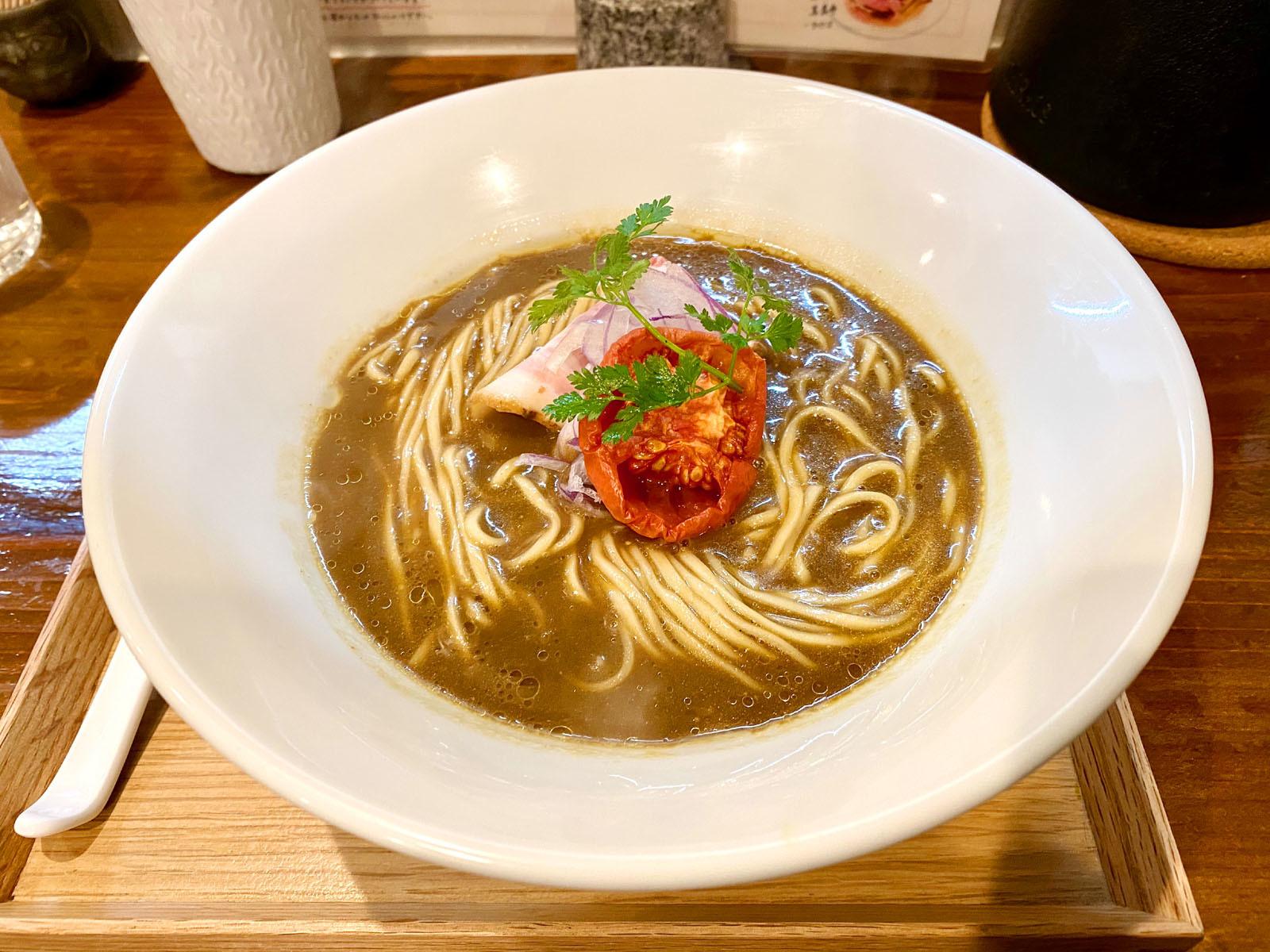 らぁ麺すずむし 07 限定 山すず伽喱麺 900円