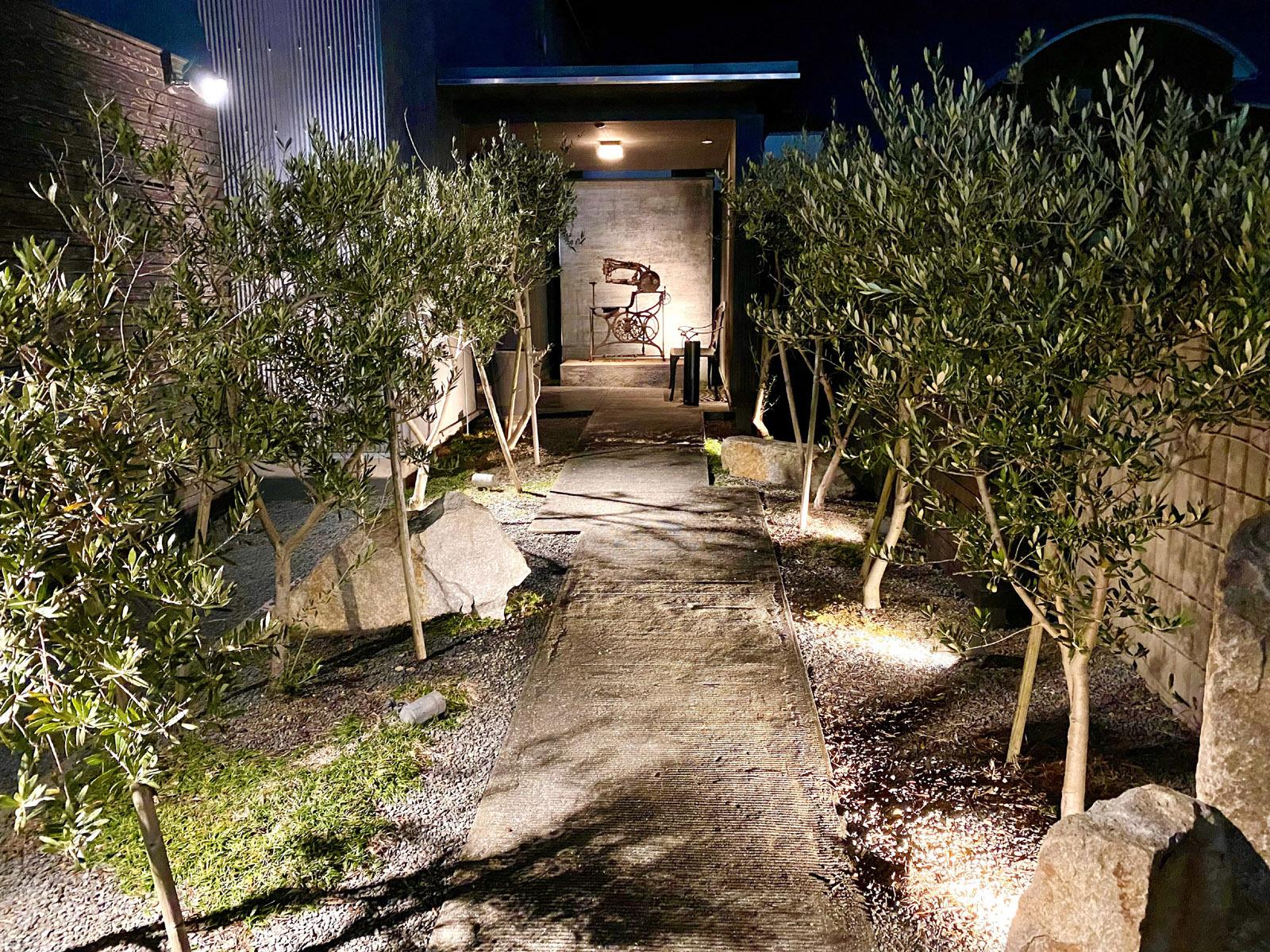 足袋のTOBICHI 入口.