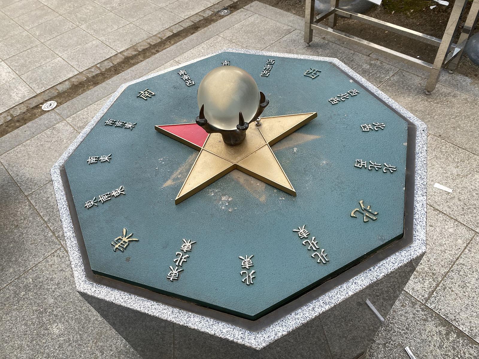 田村神社 南南東