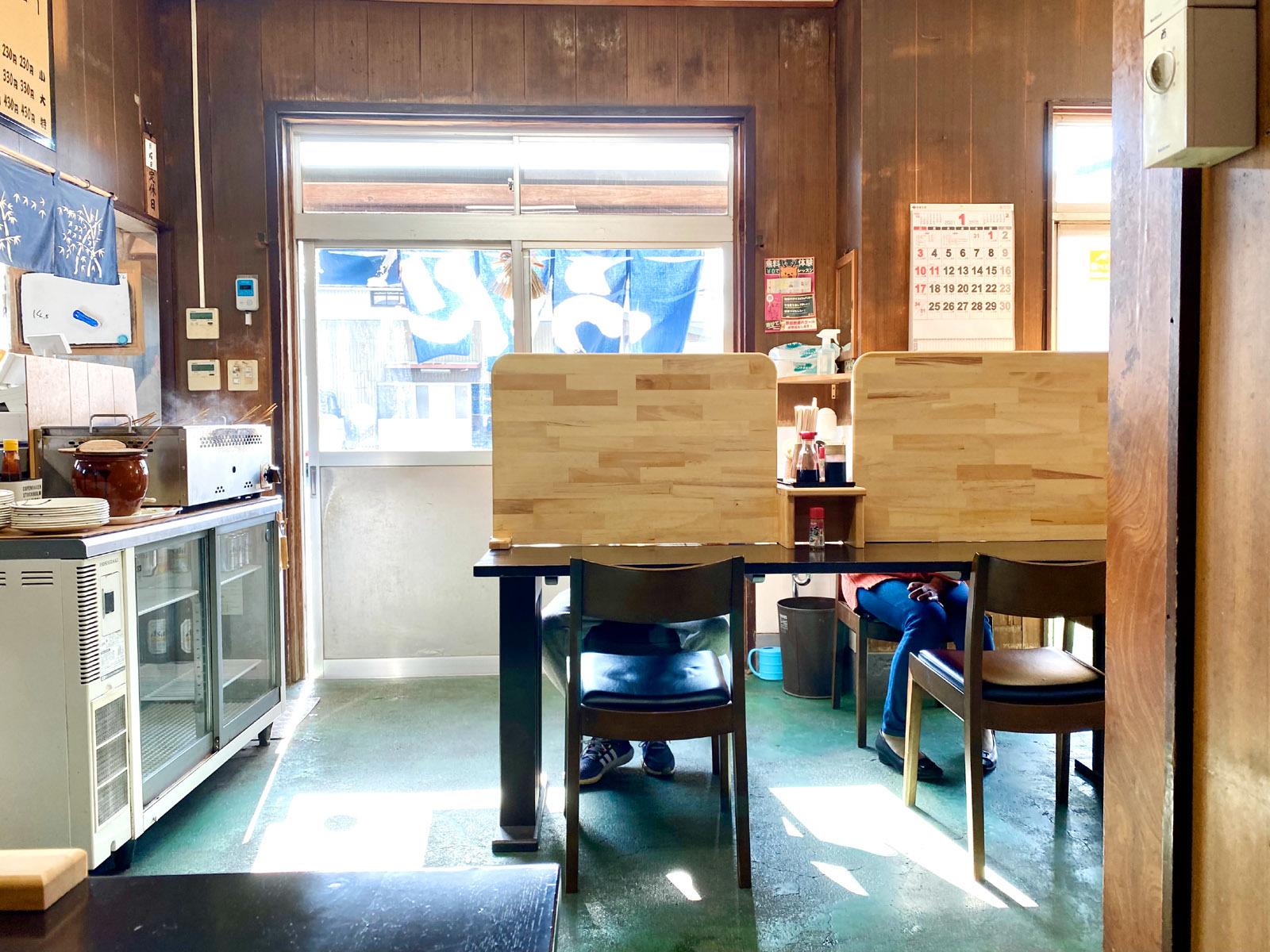 マルタニ製麺06 店内の様子