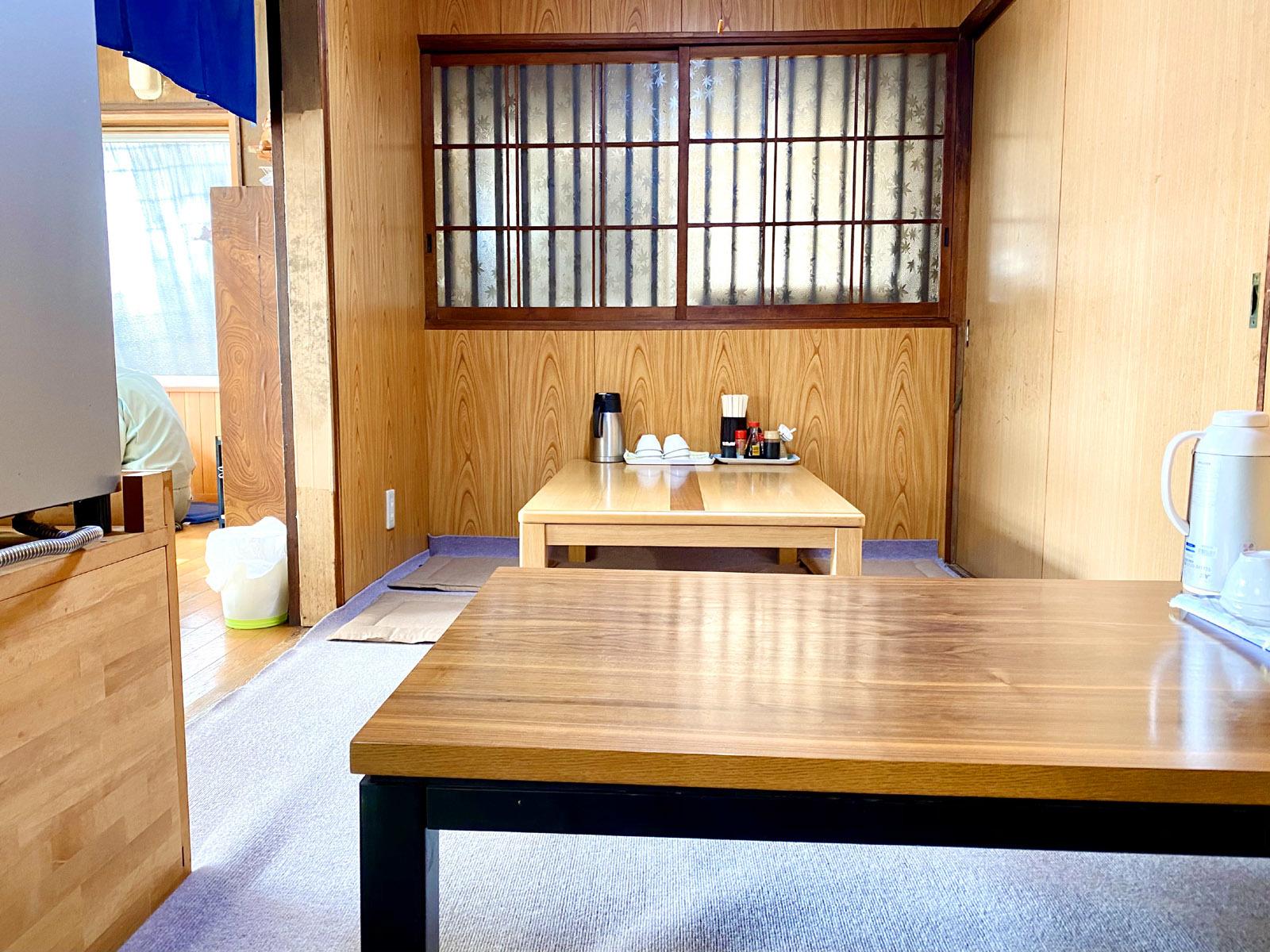 マルタニ製麺07 お座敷席
