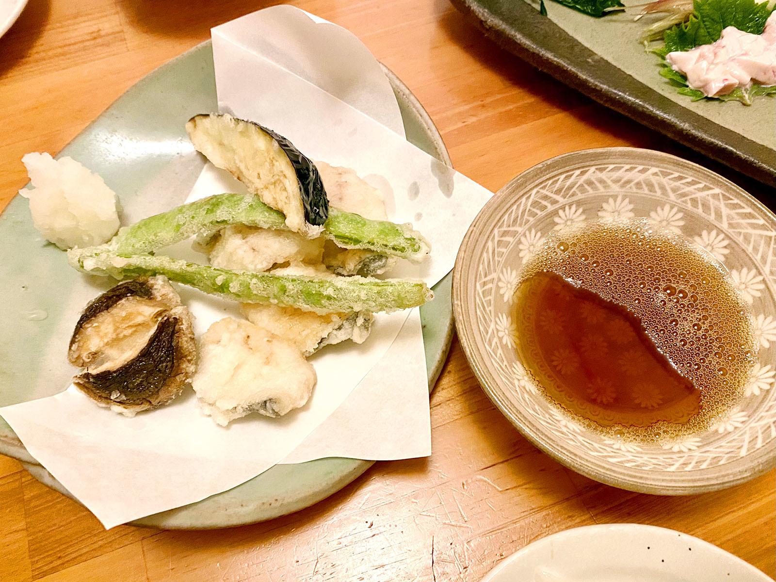 魚市場小松14 天ぷら盛り合わせ
