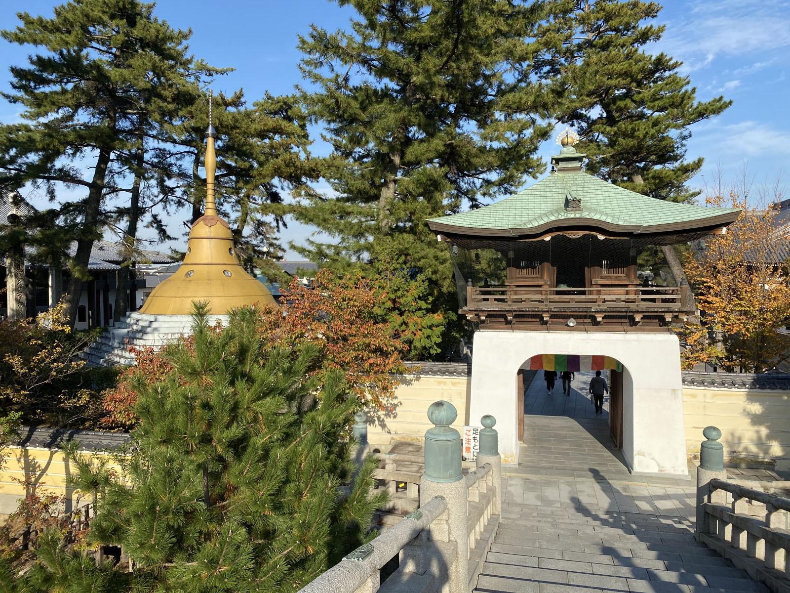 秋の善通寺