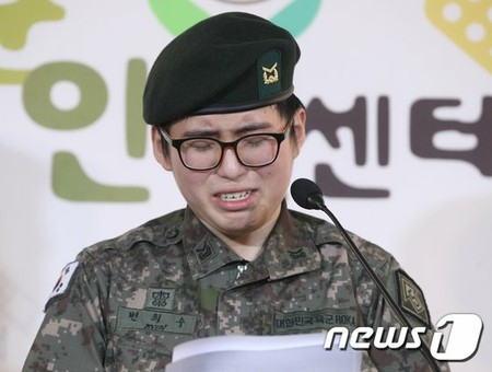 ホモセックスの夢破れて自殺した元兵士のバ韓国塵