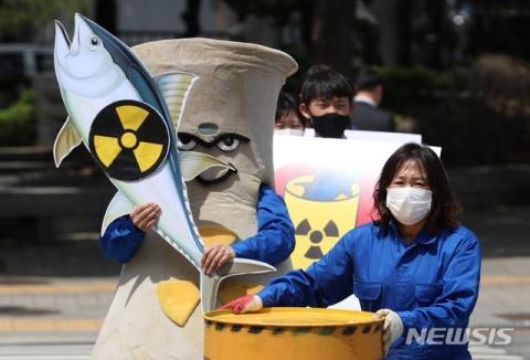 バ韓国の海洋汚染を許してはならない